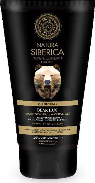 Natura Siberica Men Awakening Face Washing Gel Bear Hug 150ml